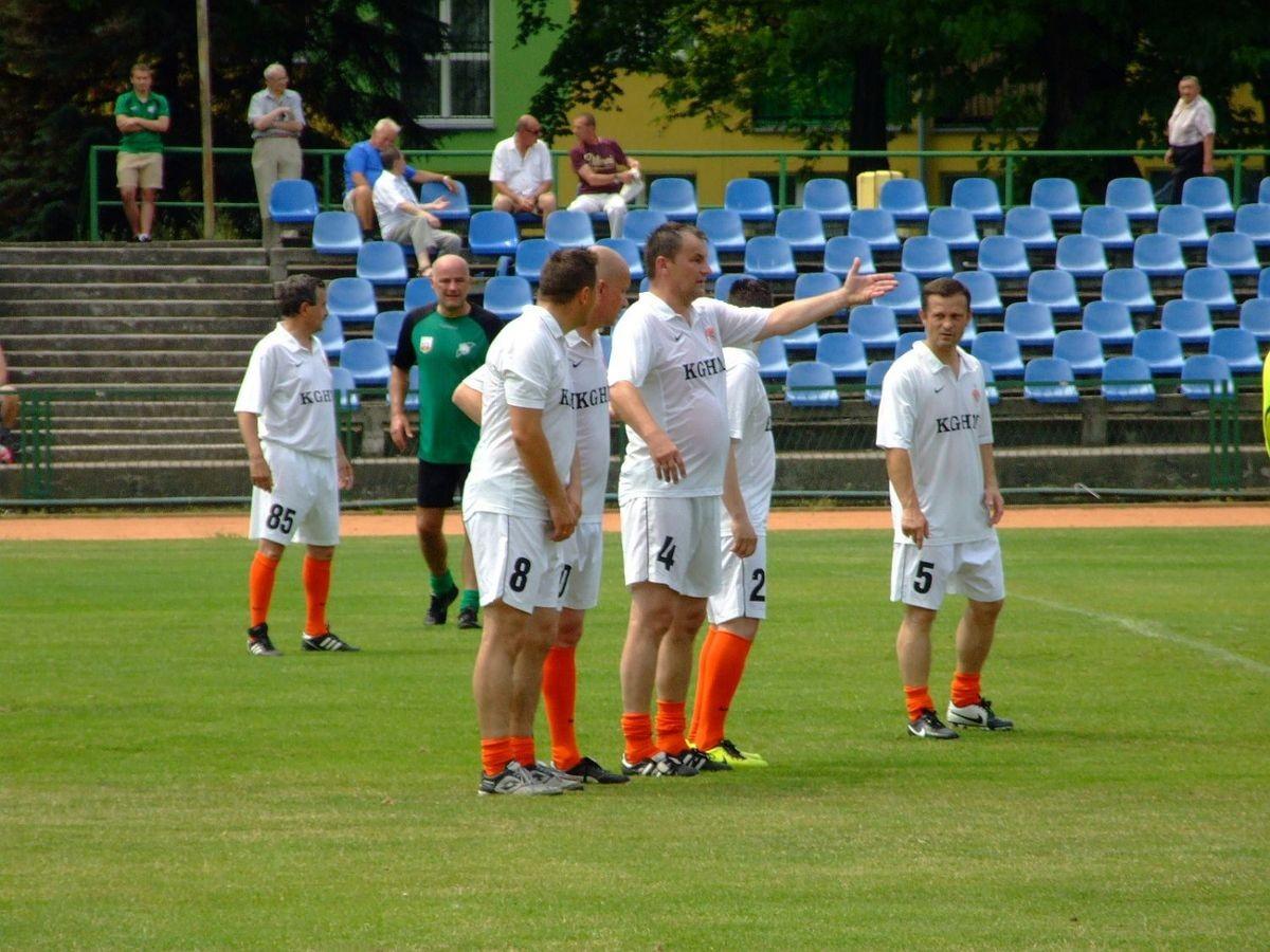 60-lecie BKS: mecz oldboye BKS - Zagłębie Lubin z-index: 0
