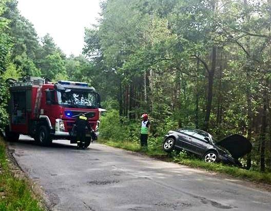21-letnia kierująca Audi zderzyła się z autobusem PKS