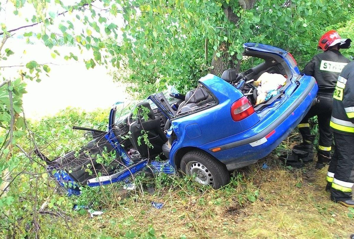 Śmiertelny wypadek koło Raciborowic, 18-latek nie żyje