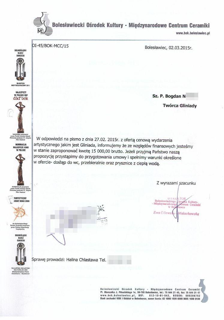 Dokumenty dotyczące Gliniady w 2015 roku z-index: 0