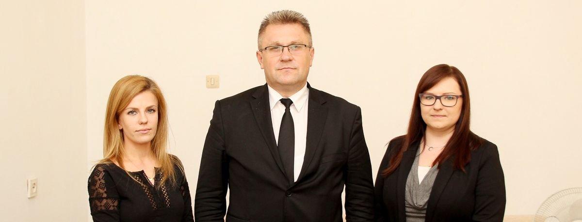 Michalina Zawada, Zbigniew Zawada i Elżbieta Szostak
