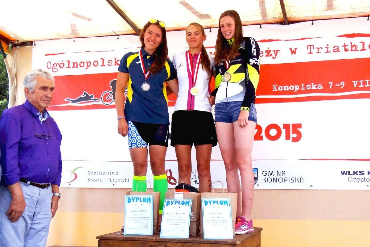 Klaudia Petters Wicemistrzynią Polski w Triathlonie