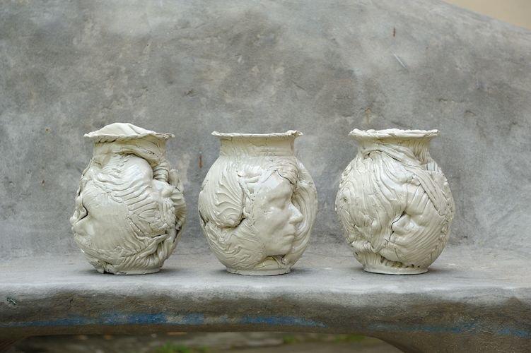 Rzeźby z peleneru ceramicznego