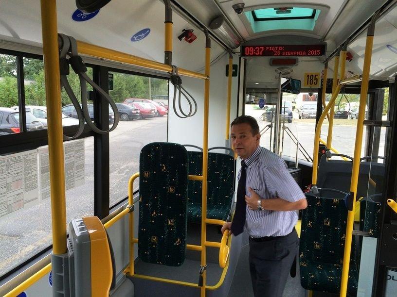 Nowy autobus w MZK