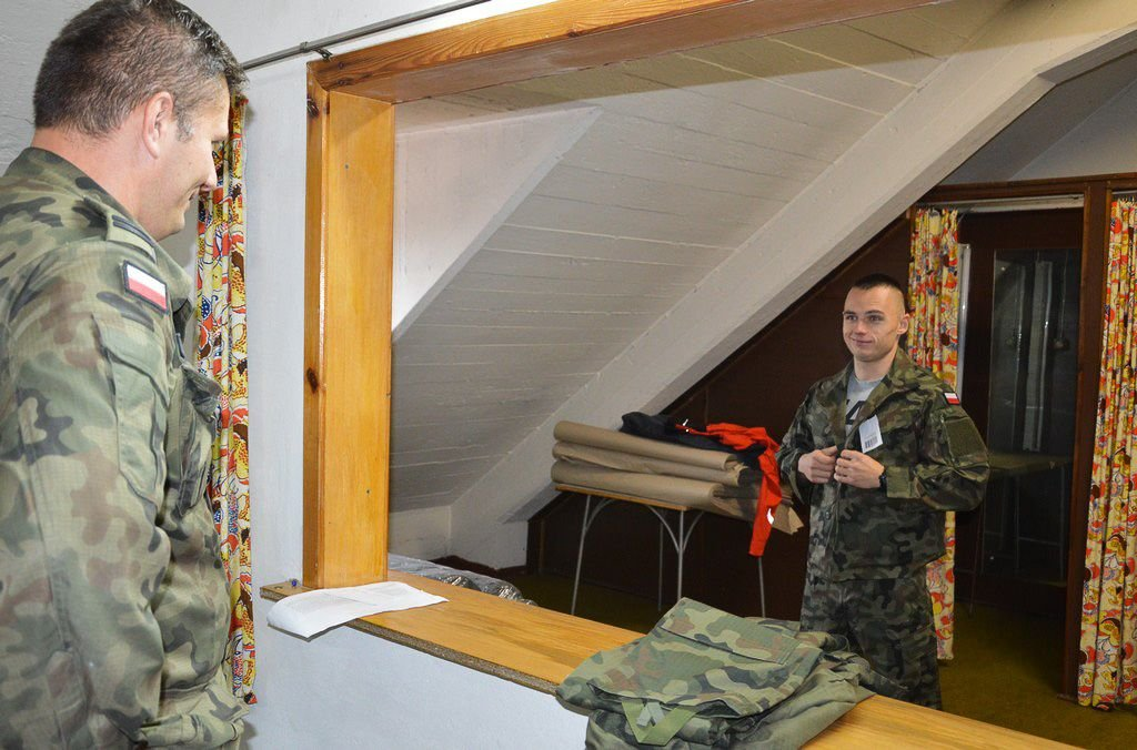 400 ochotników w Narodowych Siłach Rezerwowych
