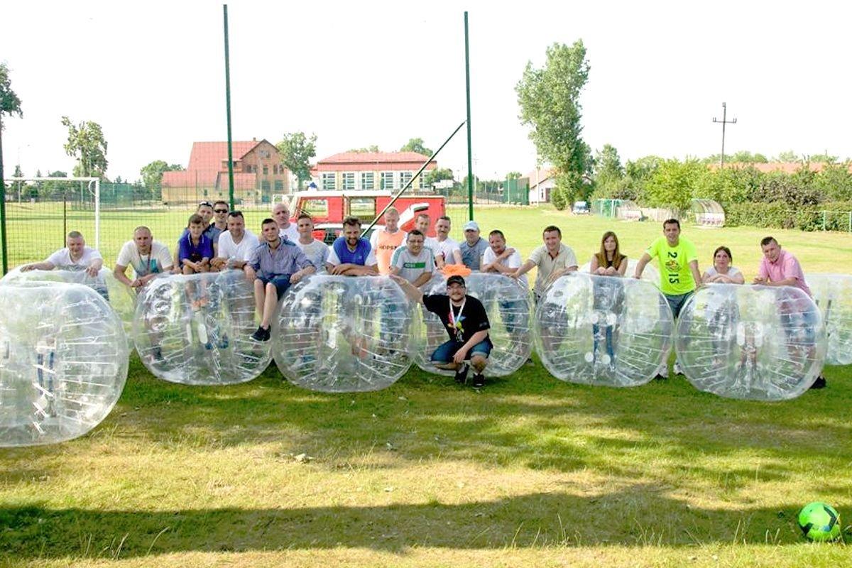 Bubble Football – świetna rozrywka już w Bolesławcu!