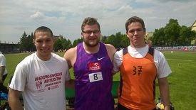 Dawid Kopała, Paweł Fajdek i Wojciech Kutryba