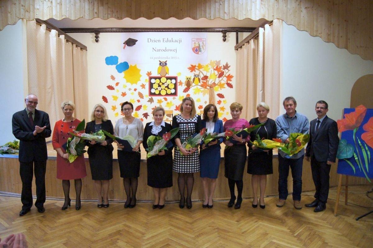 Nagrody dla gminnych nauczycieli