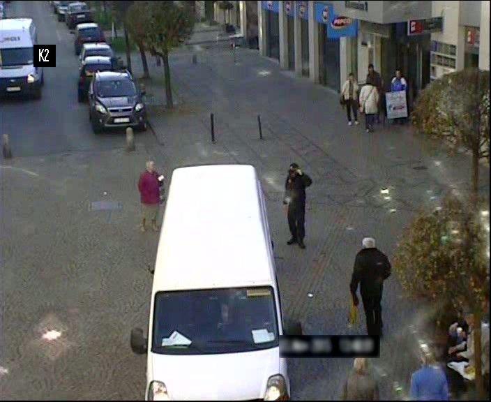 Bus potrącił dwie starsze osoby