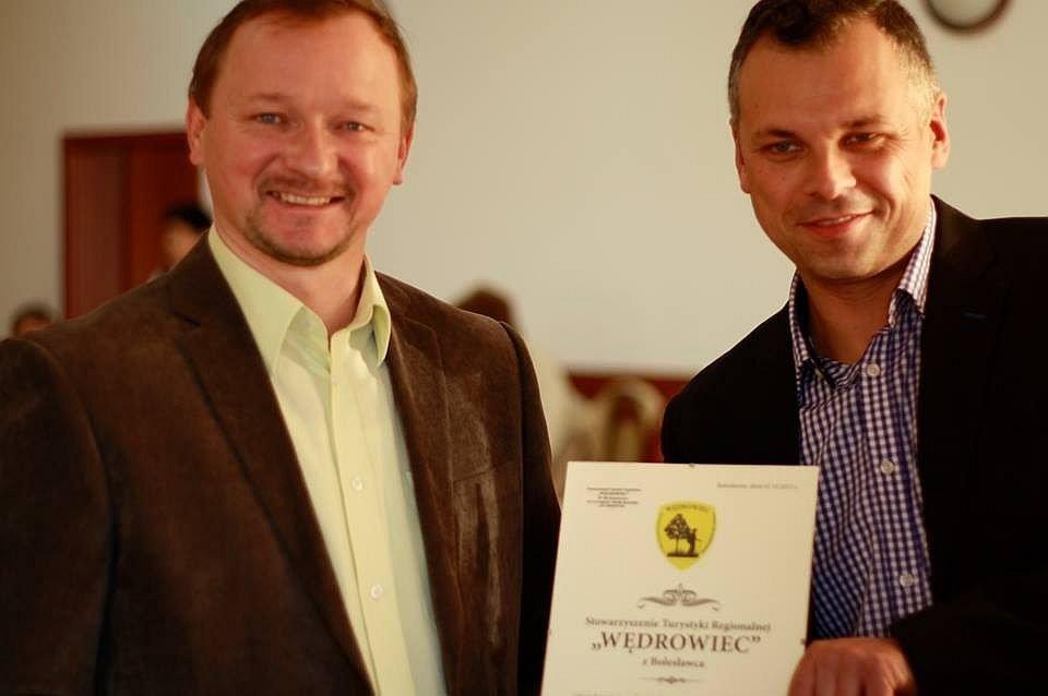 Rafał Kotlarski i Przemysław Bielawski