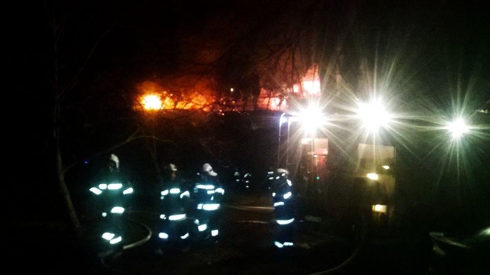 Pożar w Kliczkowie – cztery rodziny bez dachu nad głową