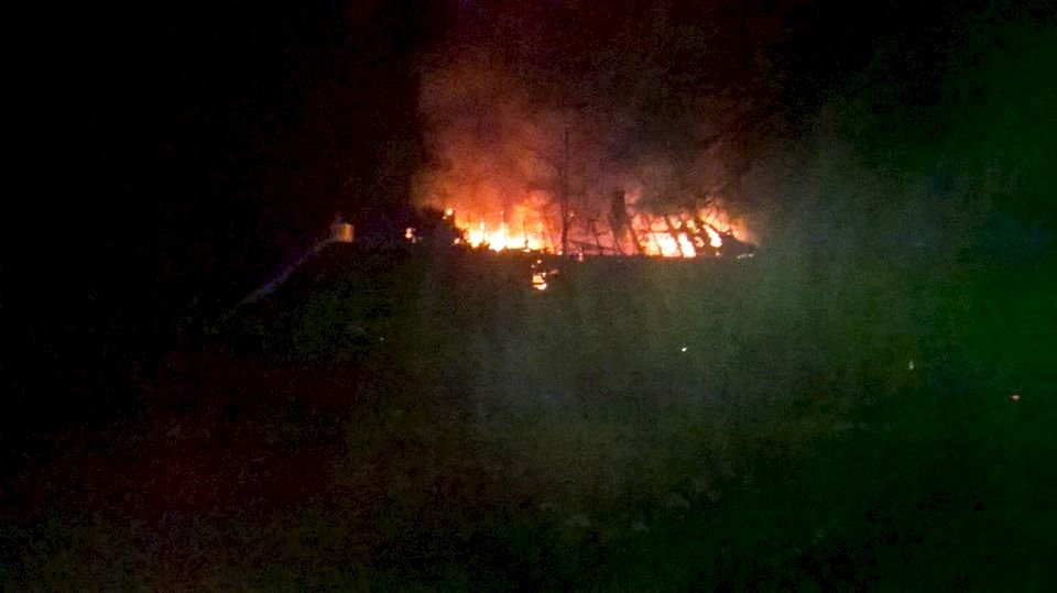 Pożar w Kliczkowie – cztery rodziny bez dachu głową