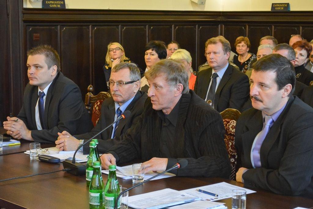 Drugi z prawej: Zdzisław Abramowicz