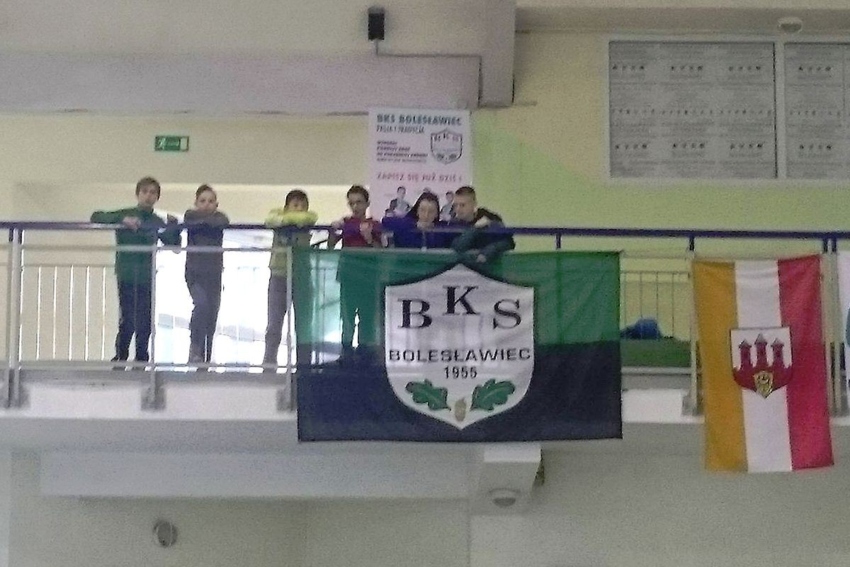 Trampkarze BKS halowymi mistrzami okręgu
