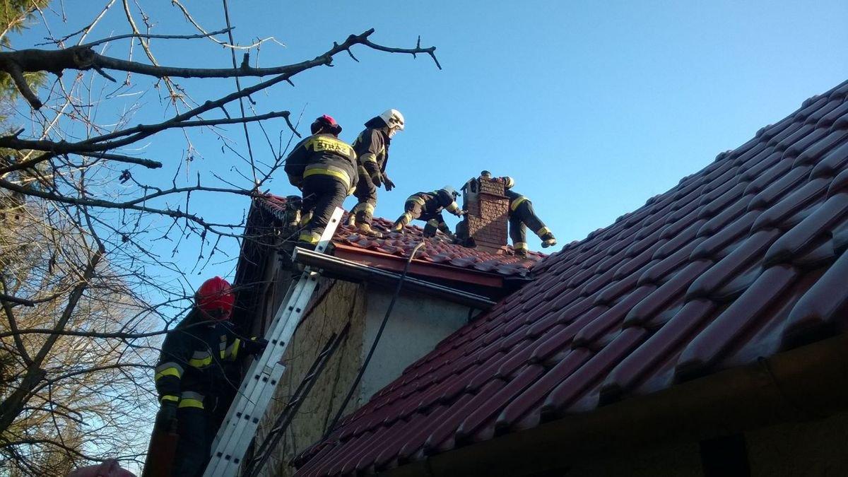 Pożar w Tomaszowie Bolesławieckim