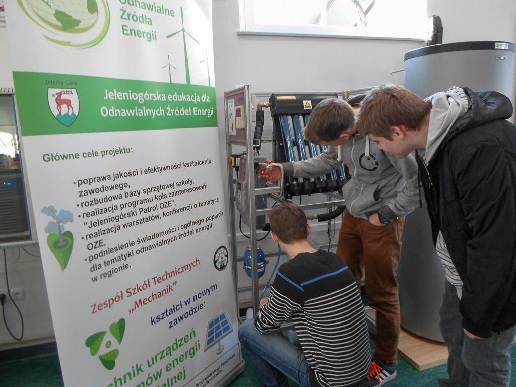 Jeleniogórska edukacja dla odnawialnych źródeł energii