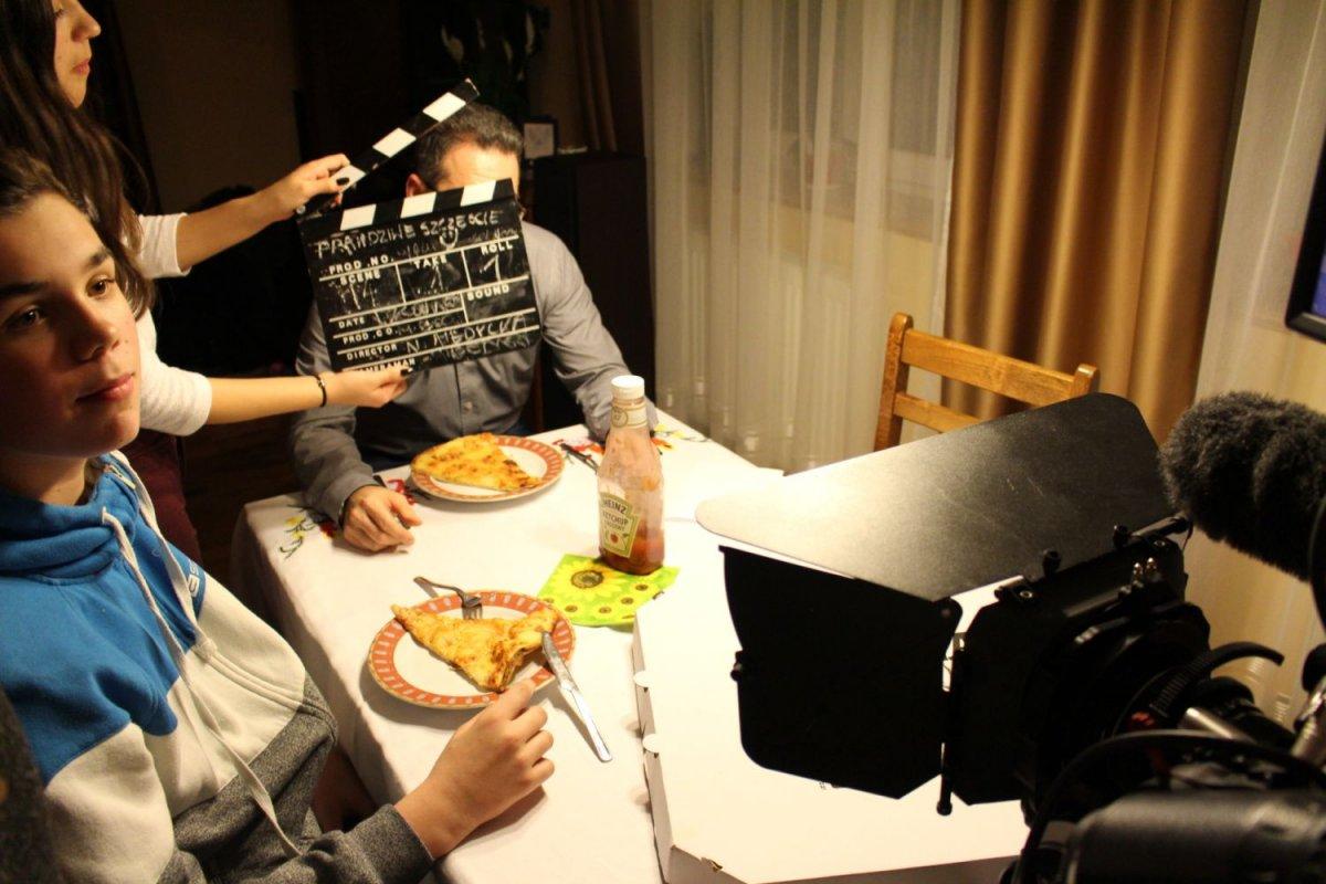 Zdjęcia z planu filmowego pracowni BOK-MCC