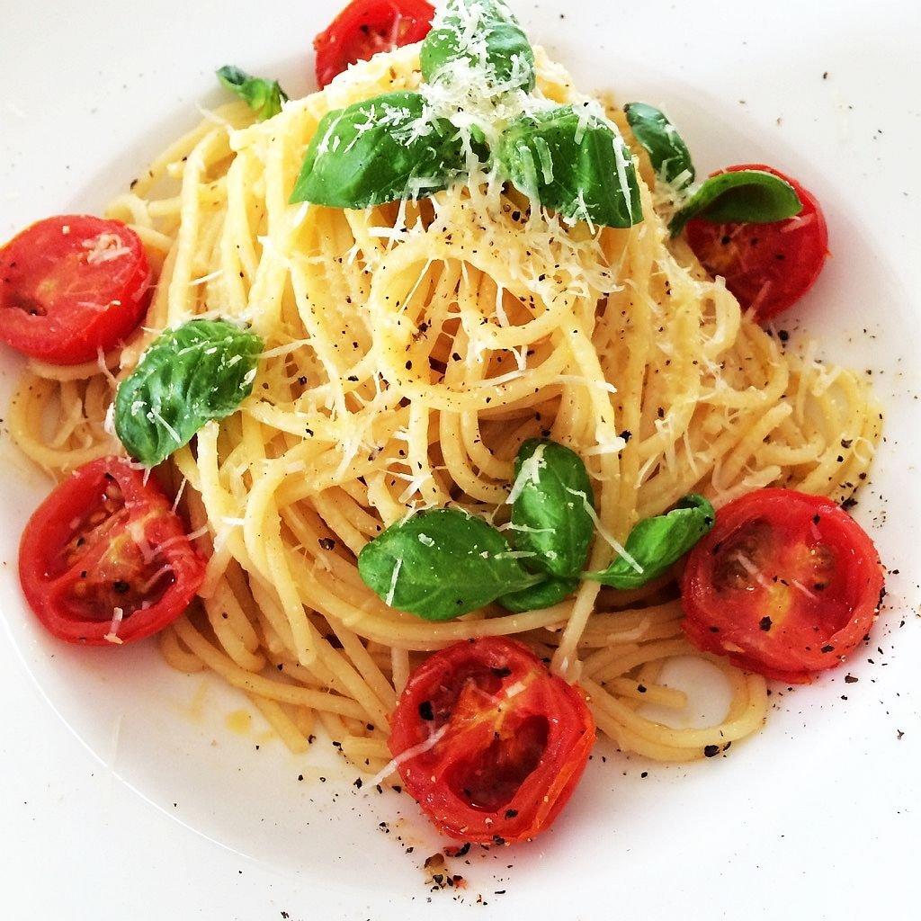 Spaghetti aglio'olio