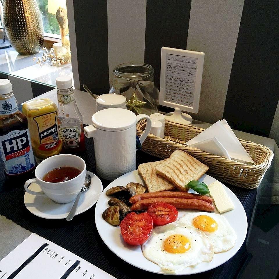 Przykładkowy zestaw śniadaniowy