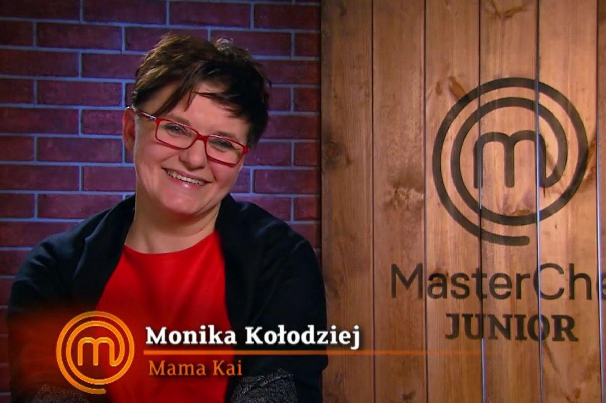 Monika Kołodziej, mama Kai, uczestniczki programu MasterChef Junior
