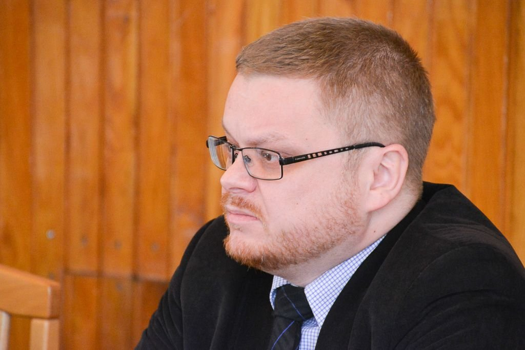 Sekretarz Powiatu Radosław Palczewski