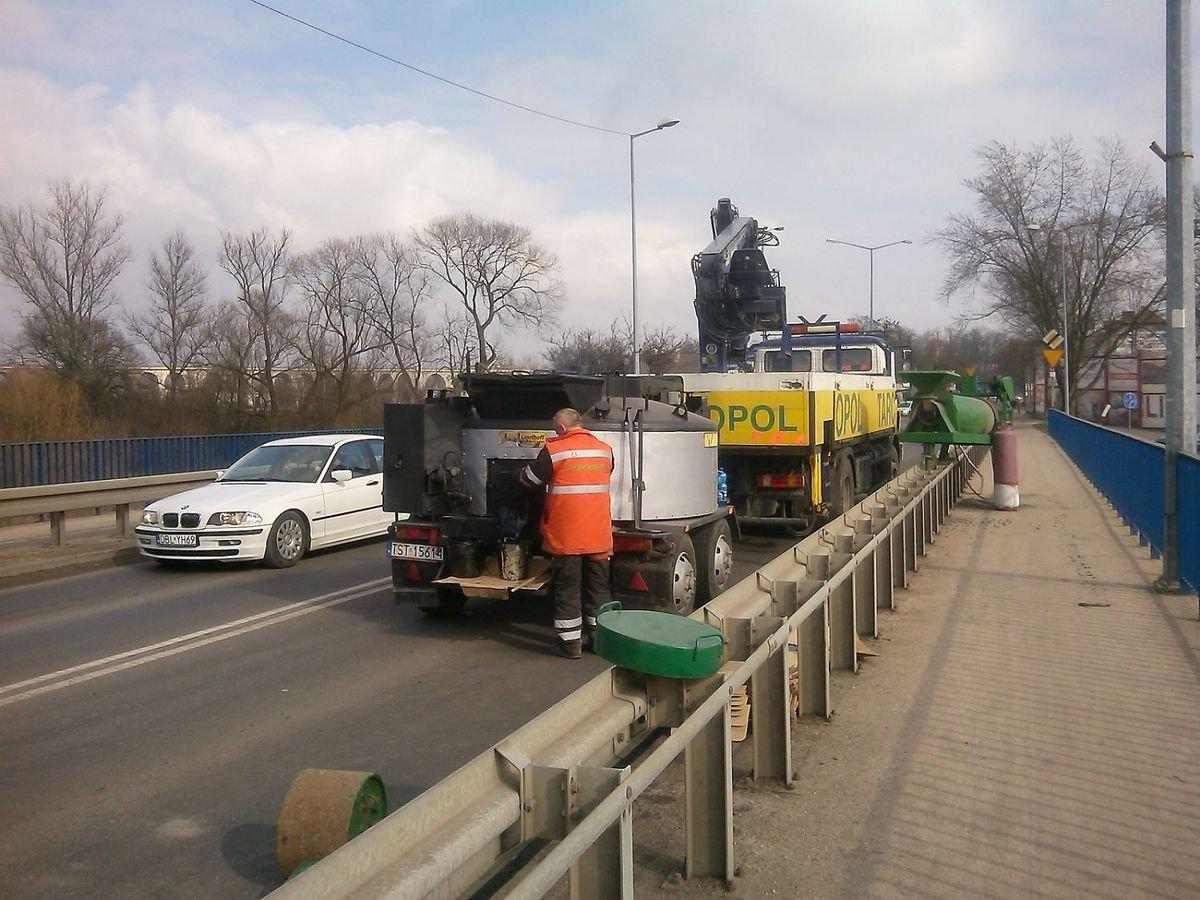 Koniec nerwów kierowców - kończą sie prace na moście