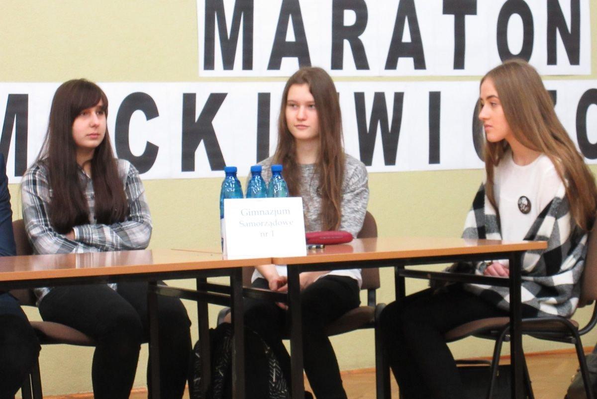 Maraton Mickiewiczowski w II LO