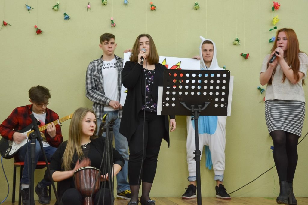 Szkolny Festiwal Talentów w II LO w Bolesławcu