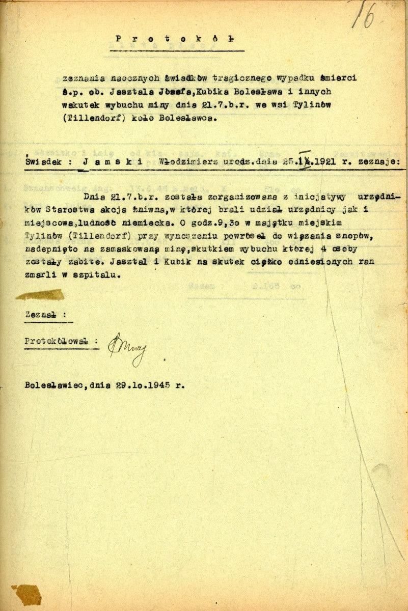 Jak zginął Bolesław Kubik?