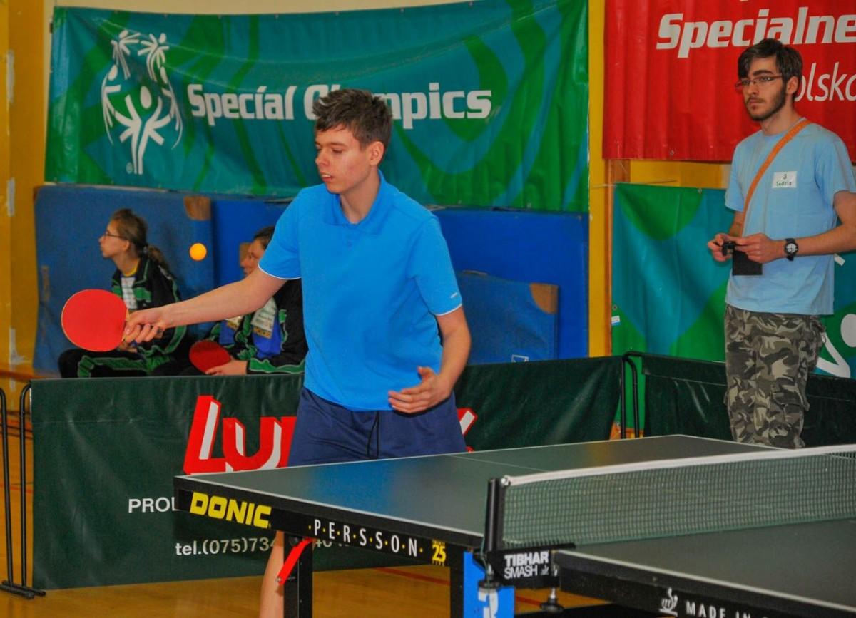 Dolnośląski Turniej Tenisa Stołowego Olimpiad Specjalnych z-index: 0