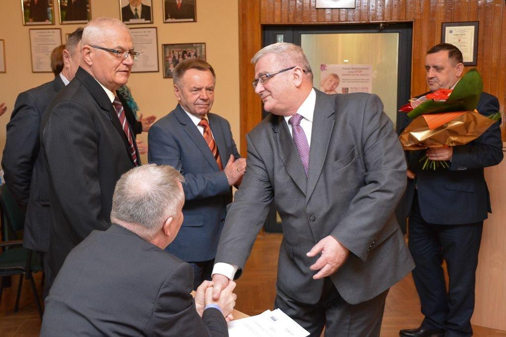 Powiat pożegnał szefa SM Bolesławianka Piotra Hetela