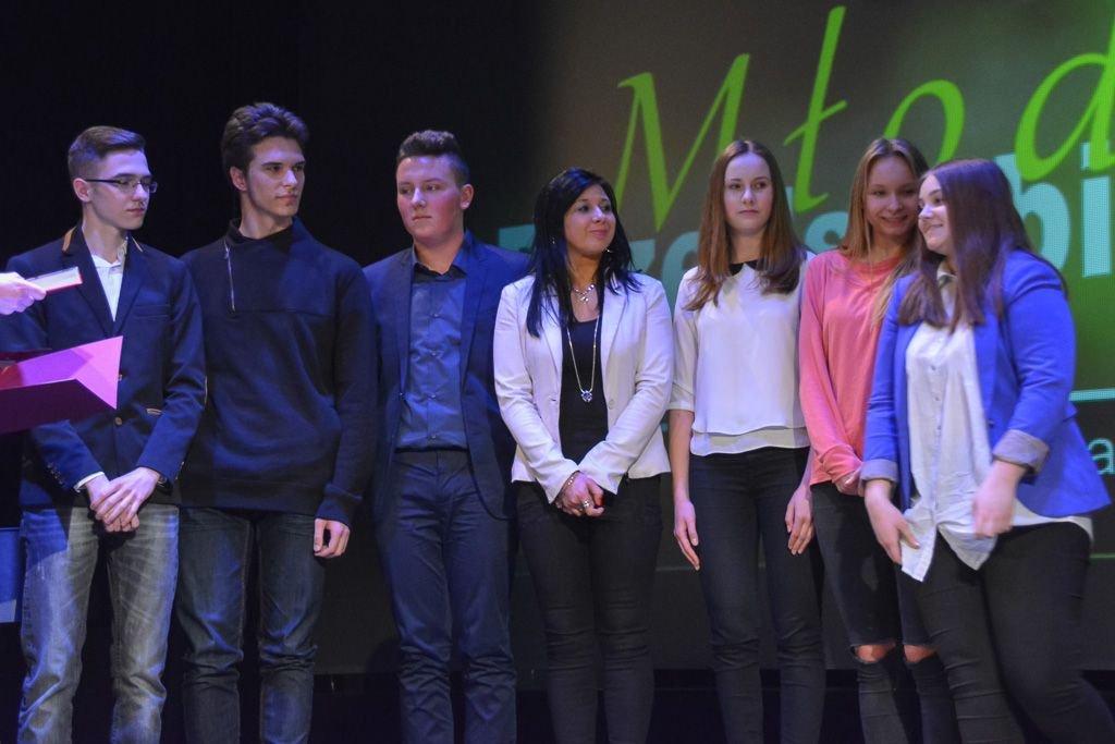 Gala konkursu Młody Przedsiębiorca 2016 r.