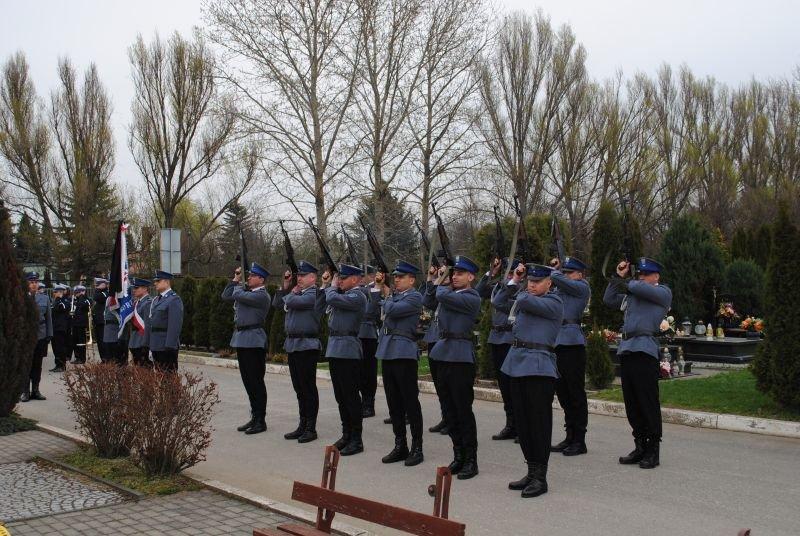 Ostatnie pożegnanie aspiranta sztabowego Dariusza Markiewicza