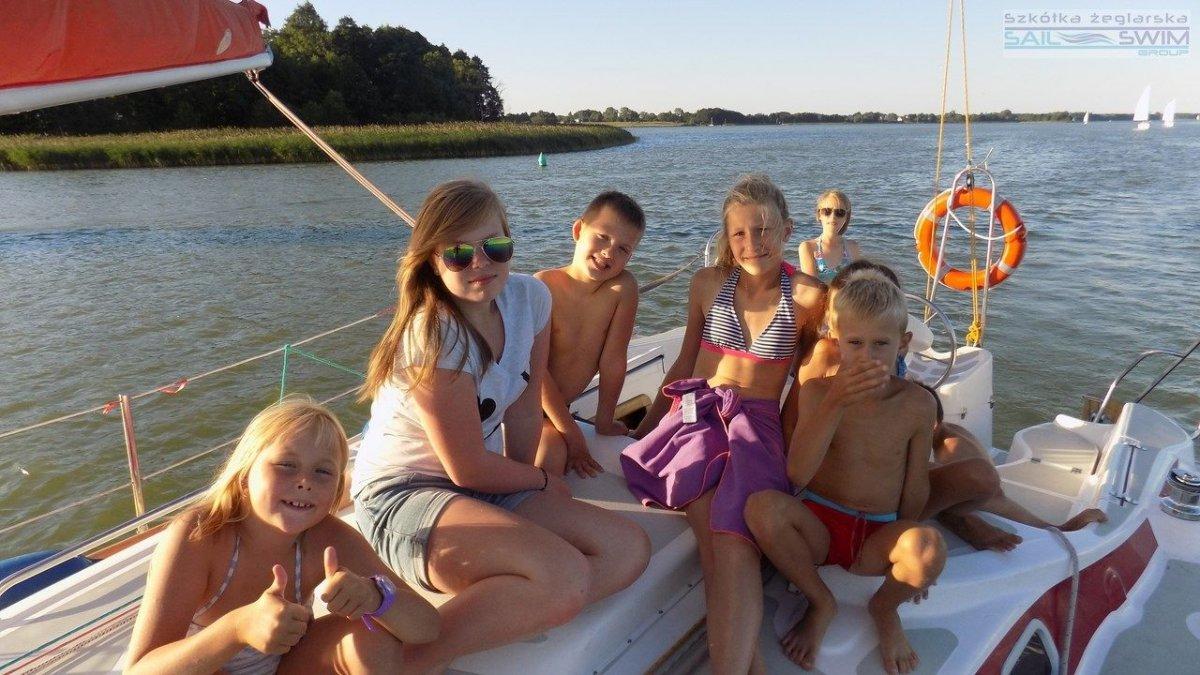 Żeglarskie wakacje dla dzieci
