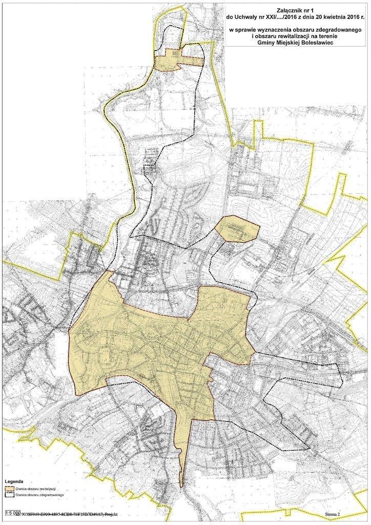 Obszar zdegradowany i obszar rewitalizacji