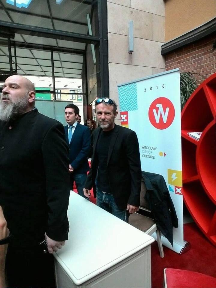 Jo Nesbo na spotkaniu z fanami we Wrocławiu
