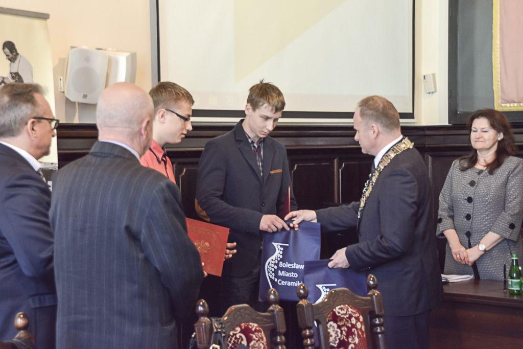 Tymoteusz Górski i Kacper Warężak uhonorowani przez Radę