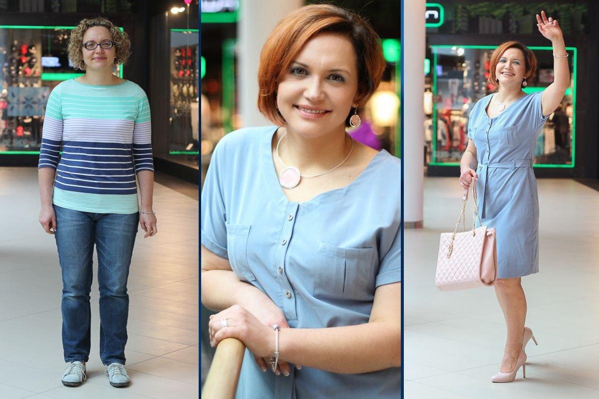 Dominika Bujak przed i po metamorfozie