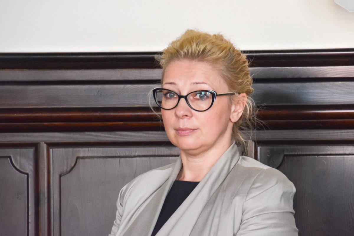 Projekt uchwały zaprezentowała Marta Gęsikowska z Wydziału Mienia i Gospodarki Przestrzennej UM