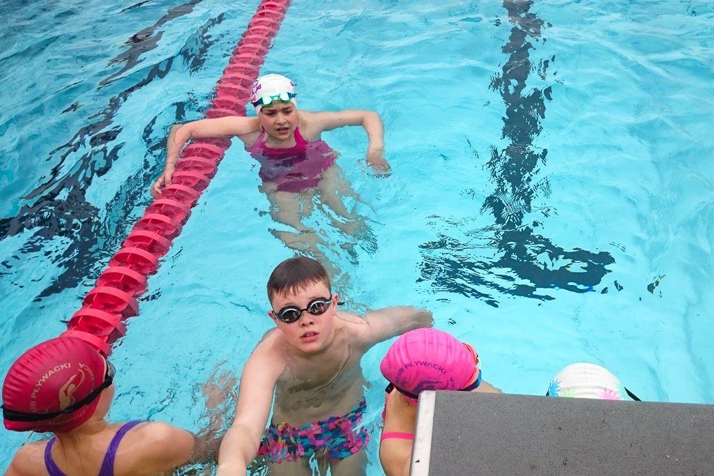 Kolejne sukcesy pływaków Harpuna