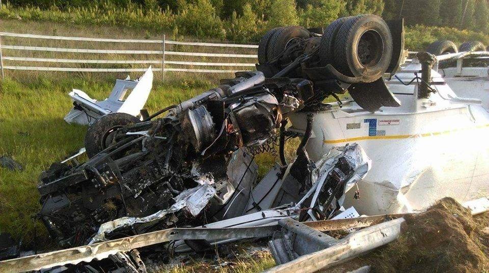 Kierowca ciężarówki zginął na A4