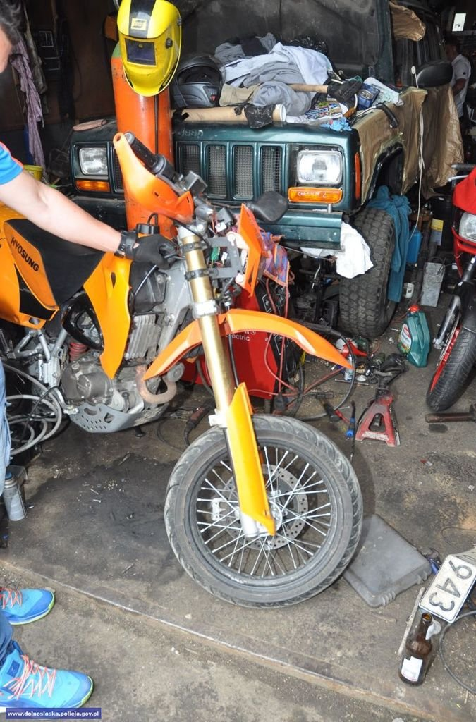 Trzymał w warsztacie ukradziony w naszym powiecie rower