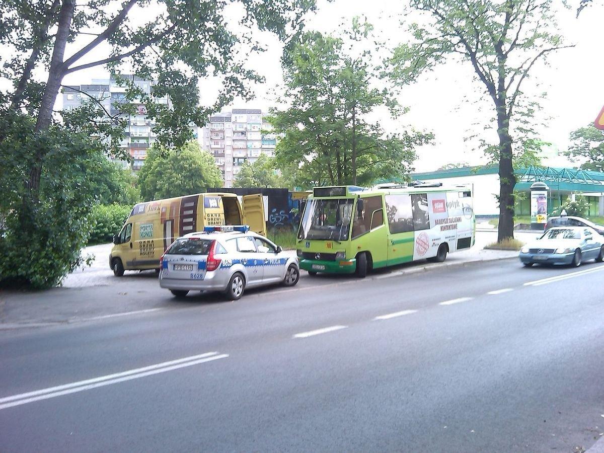 Autobus MZK zderzył się z busem