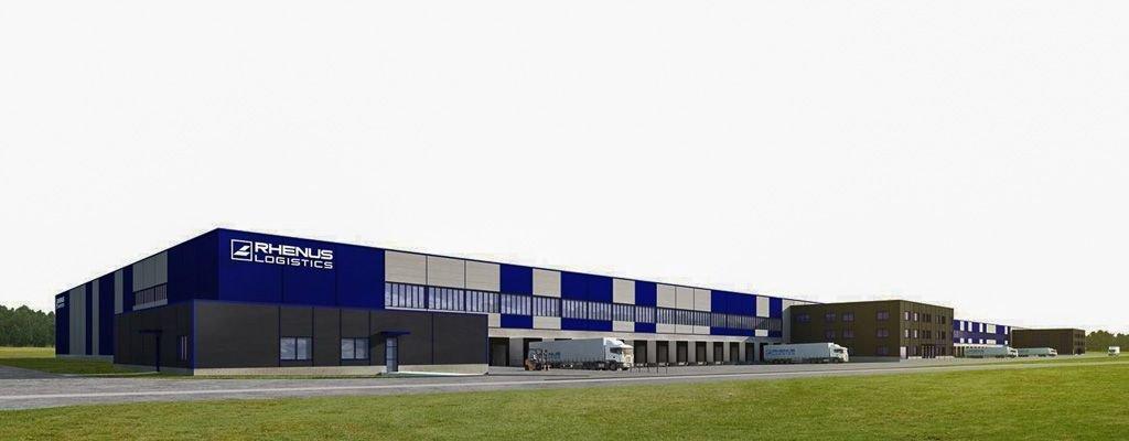 Rhenus Logistics – wizualizacja