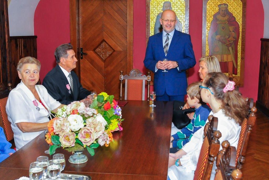 Państwo Pirogowie świętowali 50-lecie pożycia małżeńskiego
