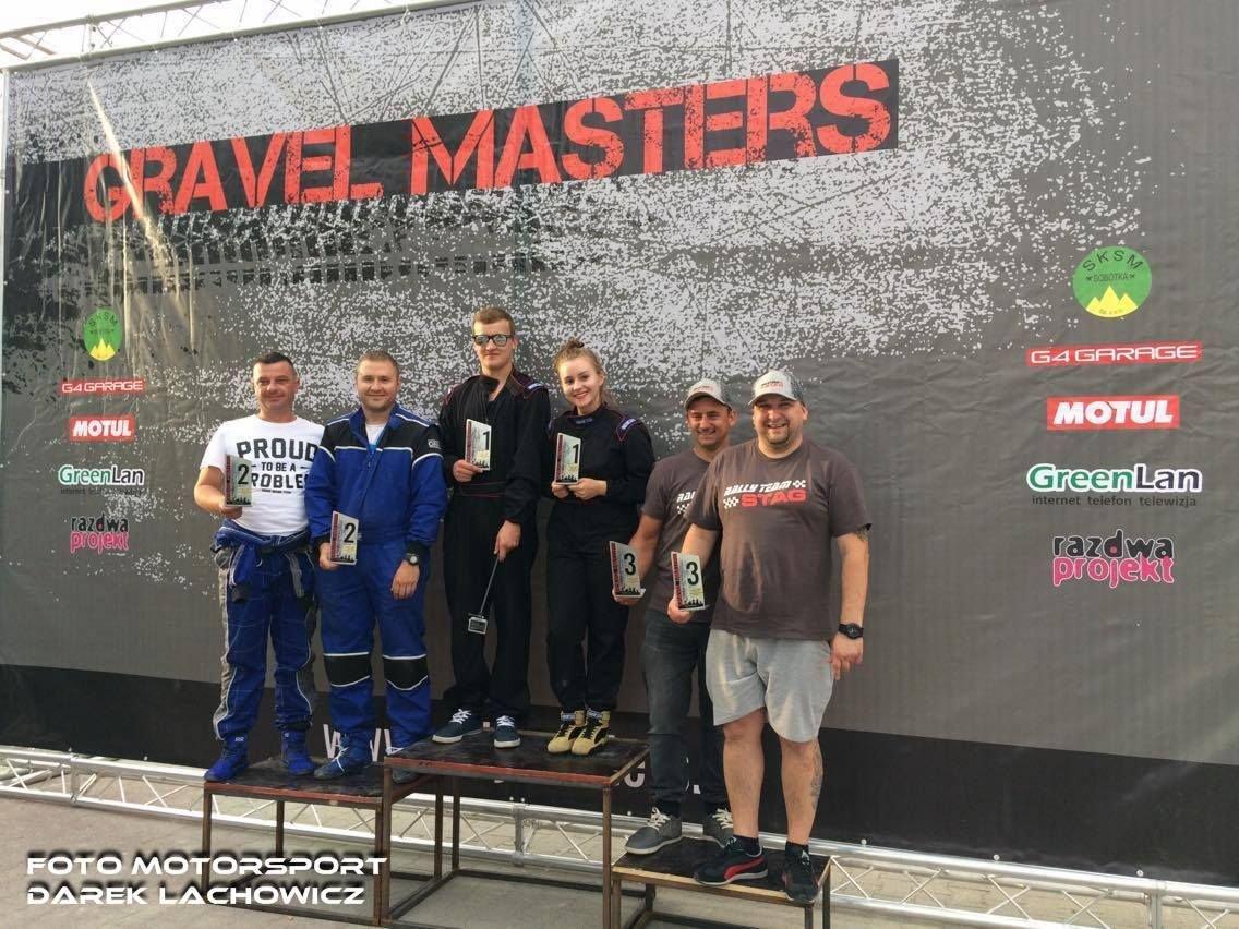 Bolesławieccy rajdowcy na trzecim miejscu w Gravel Masters