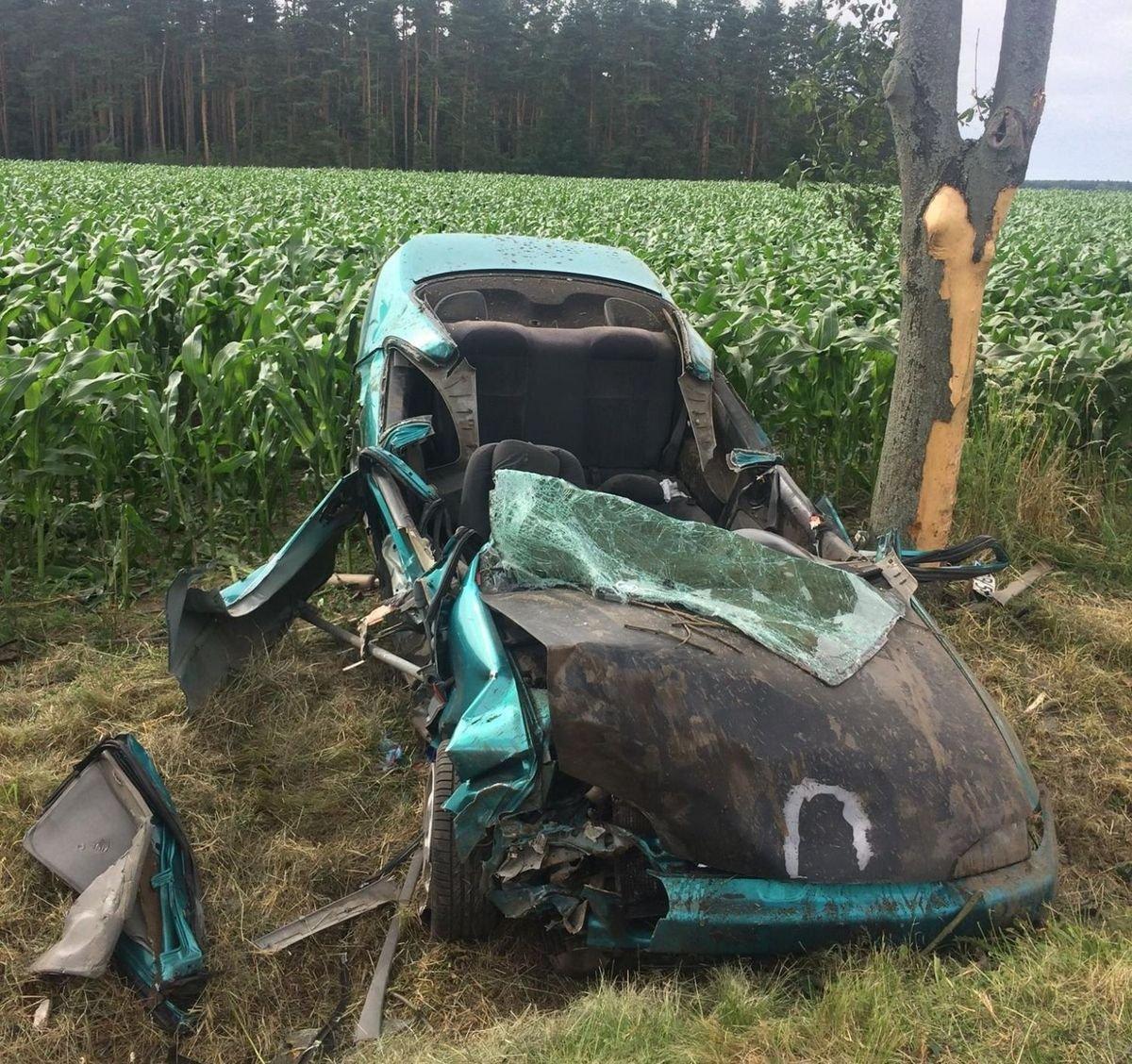 Śmiertelny wypadek: 22-latek z Lubania nie żyje
