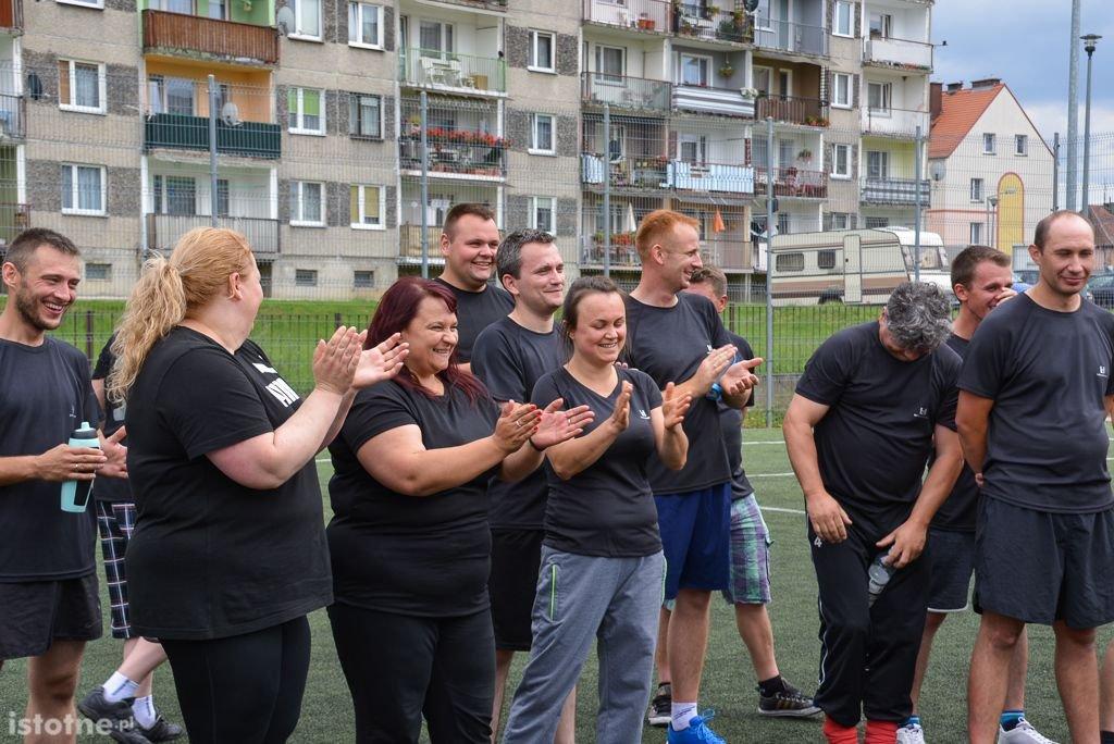 Piłkarski turniej górników z 3 kopalń na Orliku przy II LO z-index: 0