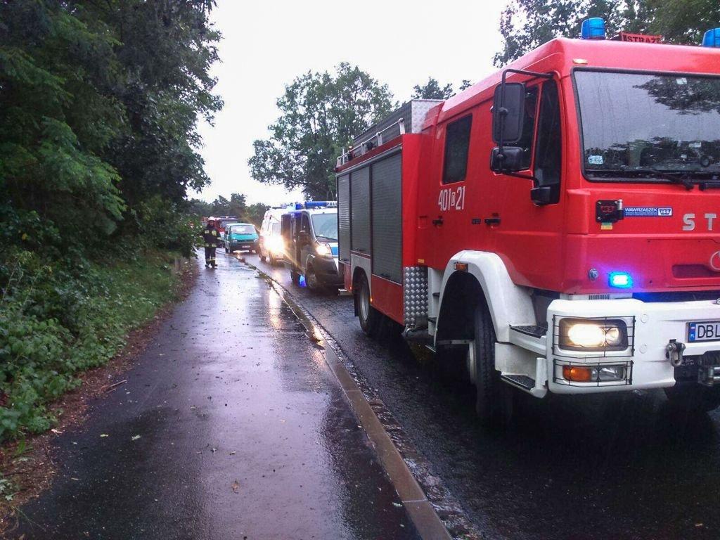 Wypadek w Starej Olesznej