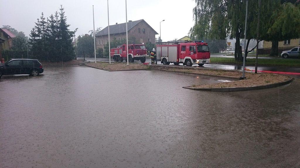 Podtopienia w Nowogrodźcu